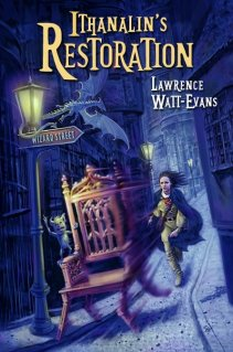Cover of the Wildside edition of Ithanalin's Restoration