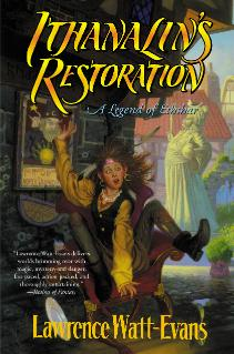 Cover of Ithanalin's Restoration in hardcover