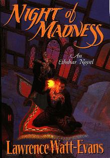 Cover of Night of Madness in hardcover